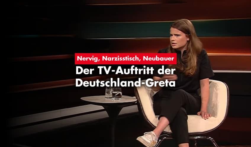 Luisa Neubauer bei Markus Lanz