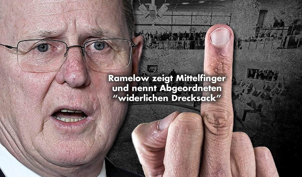 Ramelow Mittelfinger