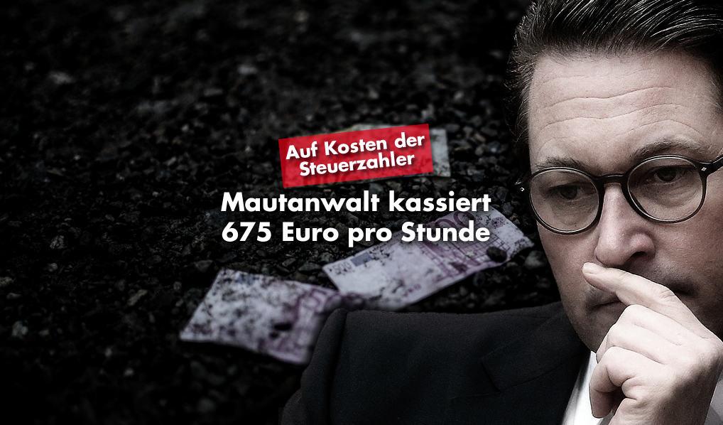 Andreas Scheuer - Mautanwalt