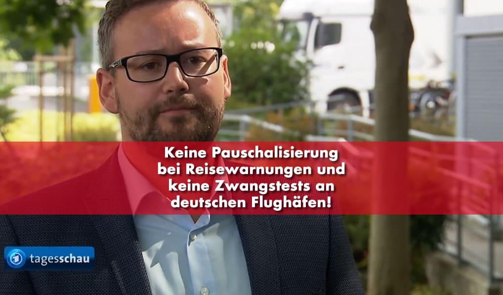 Sebastian Münzenmaier - Keine Pauschalisierungen und Zwangstests