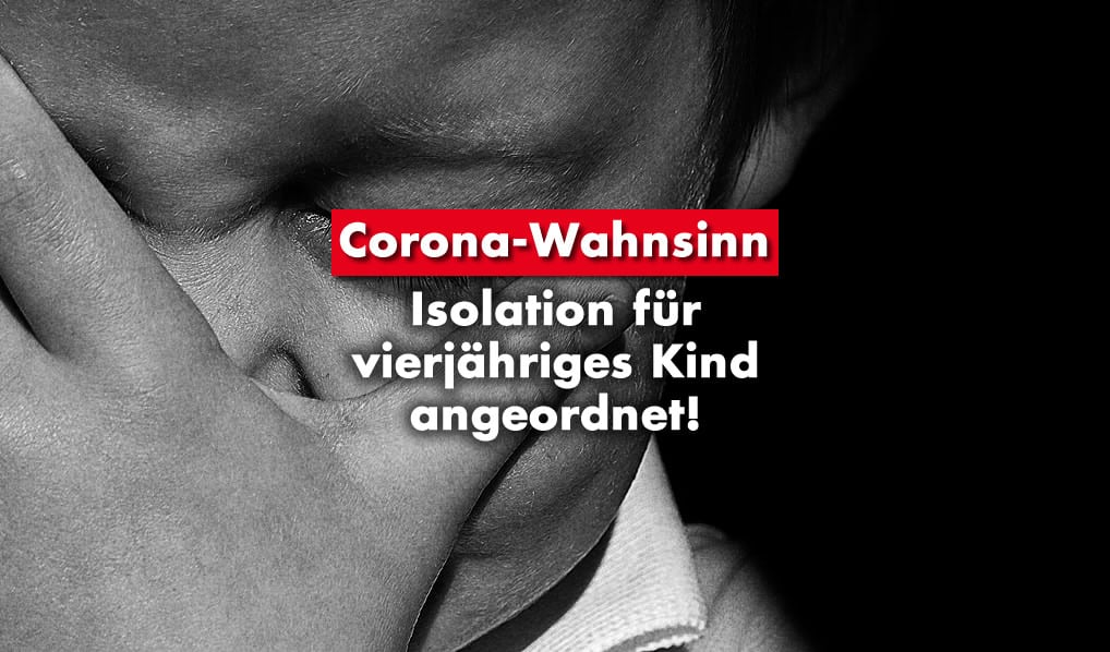 Corona: Isolation für Kinder