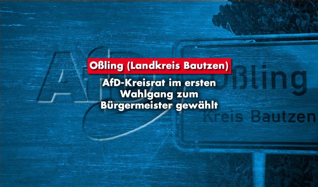 AfD Bürgermeister Oßling