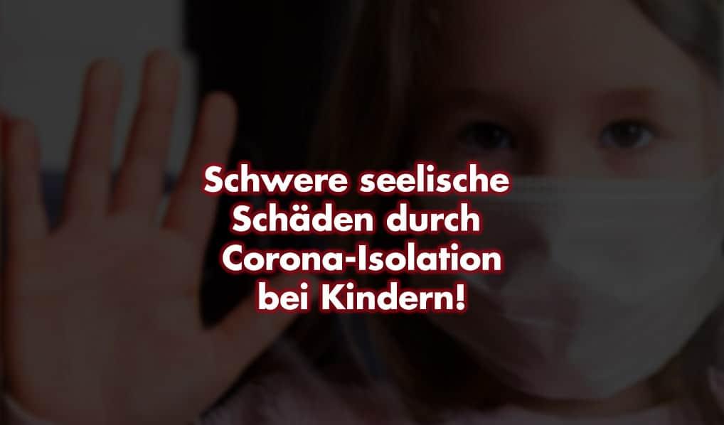 Kinderschutzbund erklärt seelische Schäden bei Kindern wegen Corona-Isolation