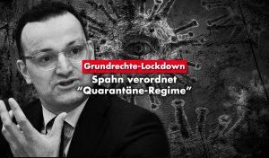 """Spahn verordnet """"Quarantäne-Regime"""""""