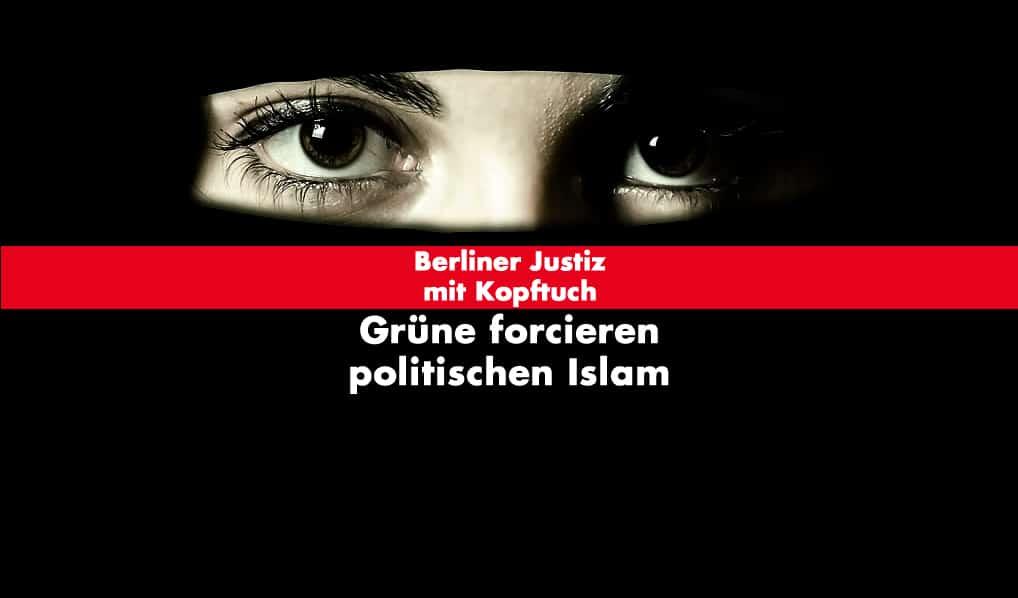 Berliner Justiz mit Kopftuch
