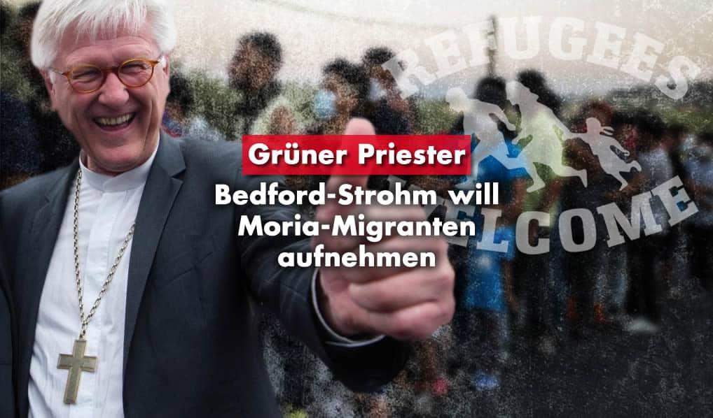 Heinrich Bedford-Strohm - Moria Migranten