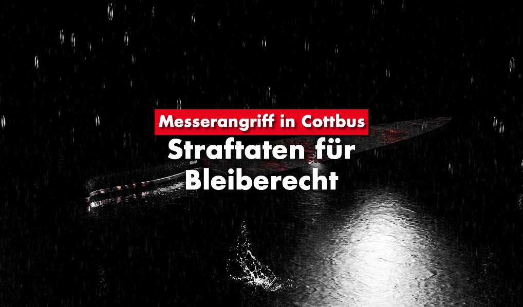 Messerangriff in Cottbus