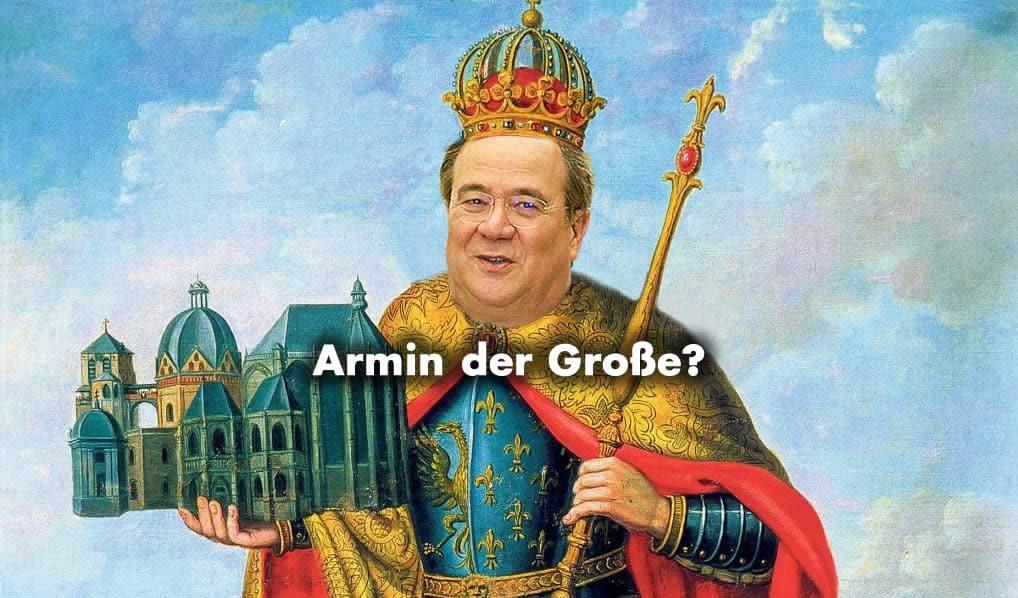 Armin Laschet - Karl der Große