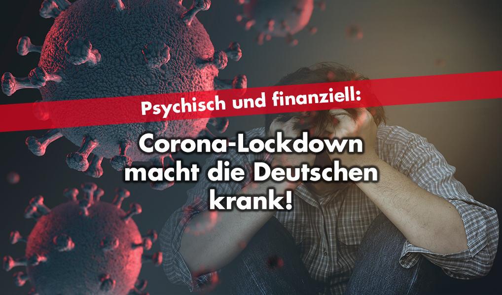 Psychisch und finanziell - Deutsche in Lockdown-Depression