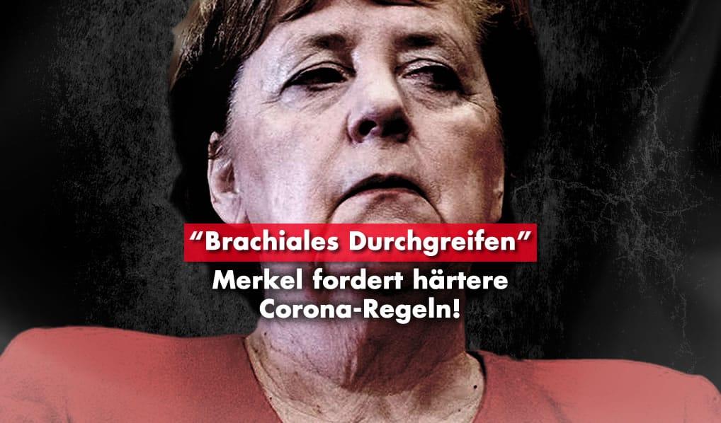 Merkel fordert härtere Corona-Regeln!