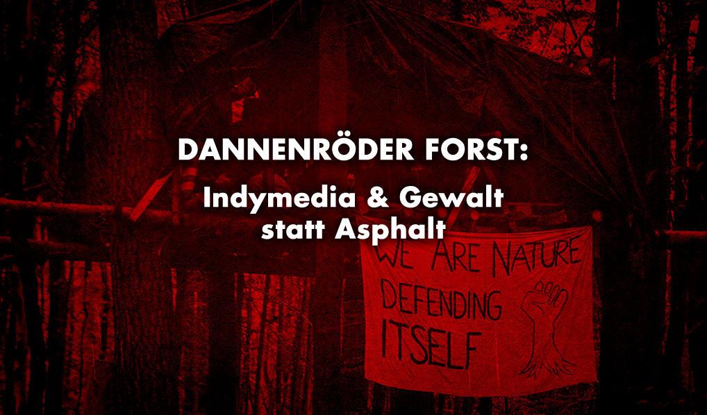 Protest am Dannenröder Forst - Linke