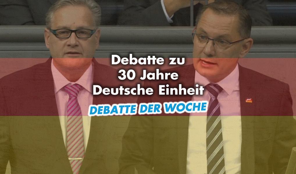 Debatte im Bundestag - 30 Jahre Deutsche Einheit
