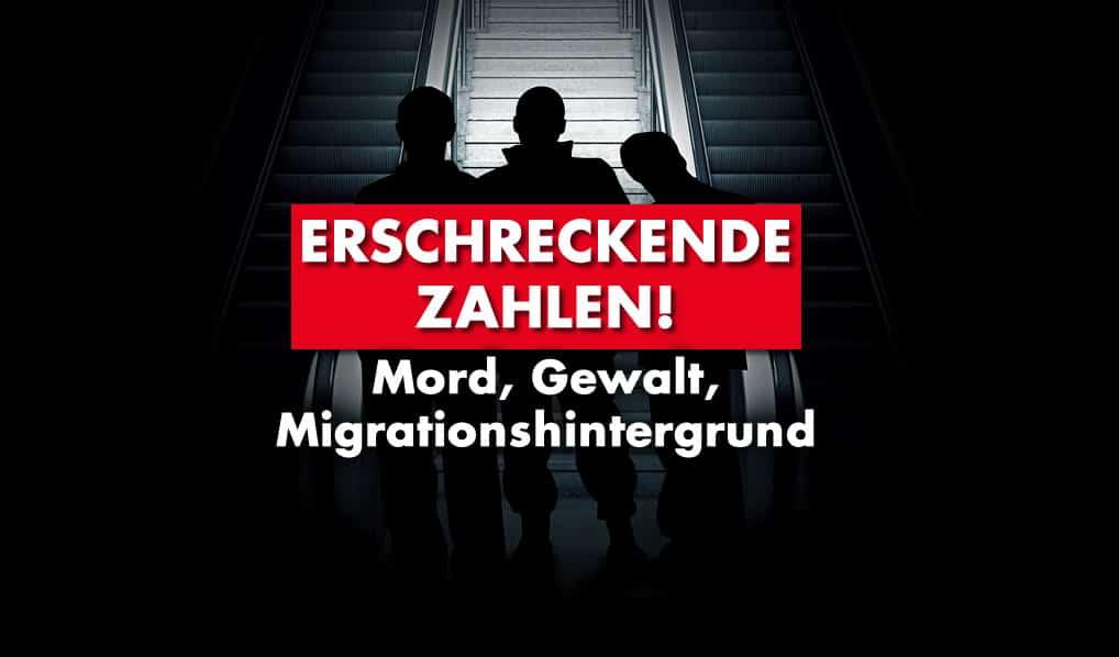 Erschreckende Zahlen - Mord, Gewalt, Migrationshintergrund