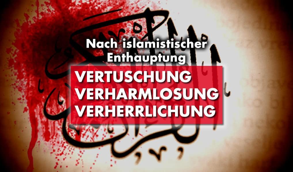 Nach islamistischem Anschlag in Paris – Vertuschung, Verharmlosung, Verherrlichung