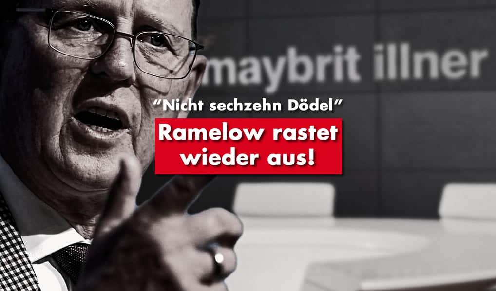 Ramelow rastet wieder aus