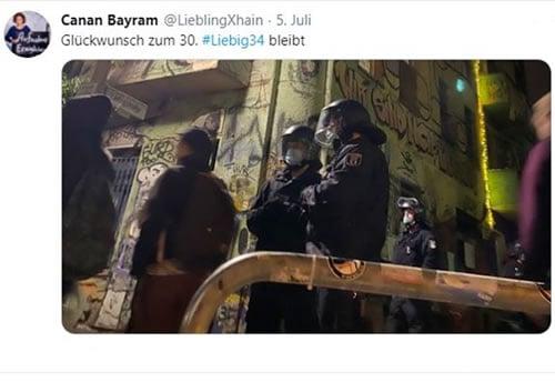 Canan Bayram - Glückwunsch an Liebig34