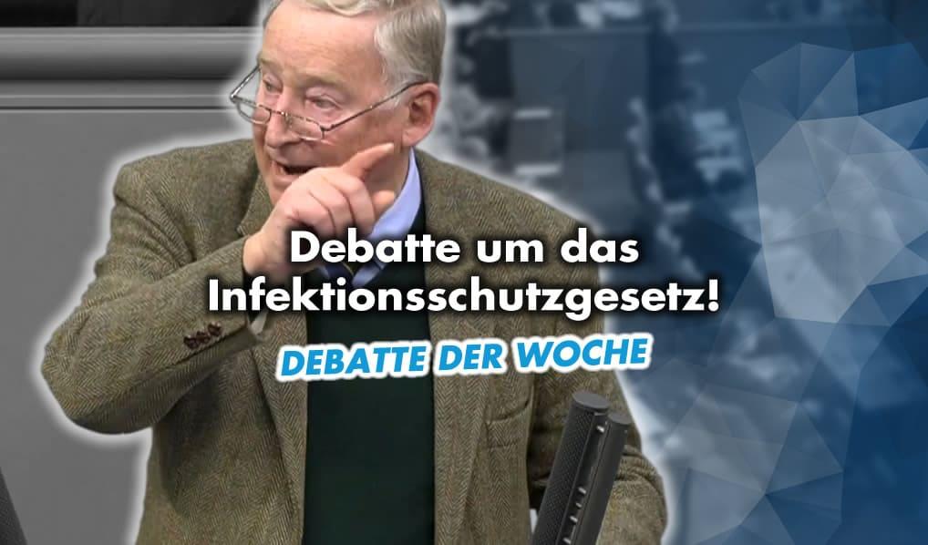 Debatte um das Infektionsschutzgesetz
