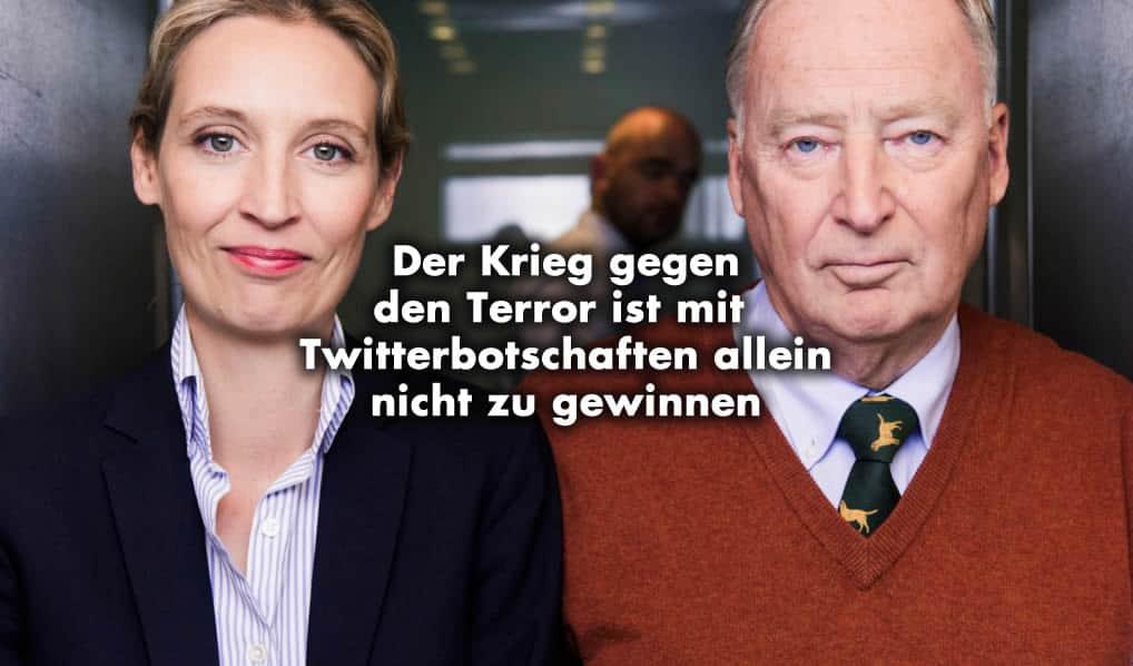 Weidel und Gauland - Islam Terror