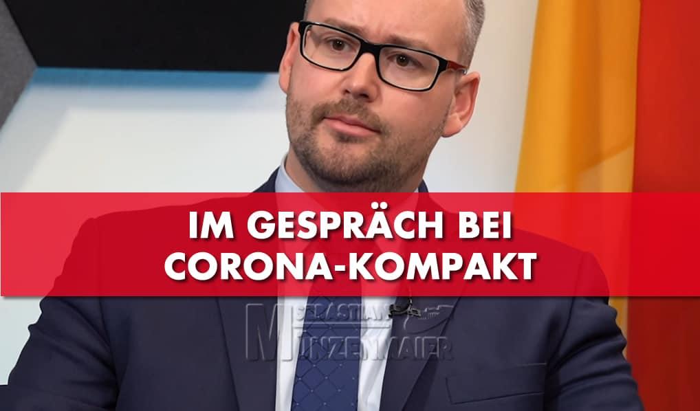 Sebastian Münzenmaier im Gespräch bei Corona-Kompakt
