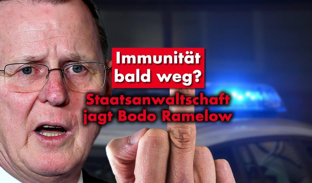 Staatsanwaltschaft jagt Bodo Ramelow!