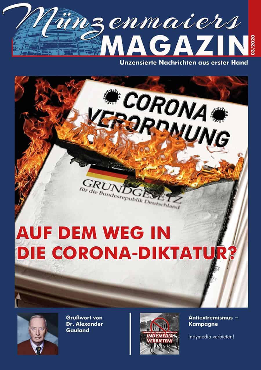 Münzenmaiers Magazin 03/20