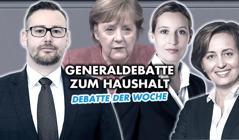 Generaldebatte zum Haushalt