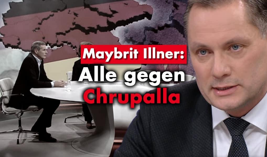 Tino Chrupalla bei Maybrit Illner