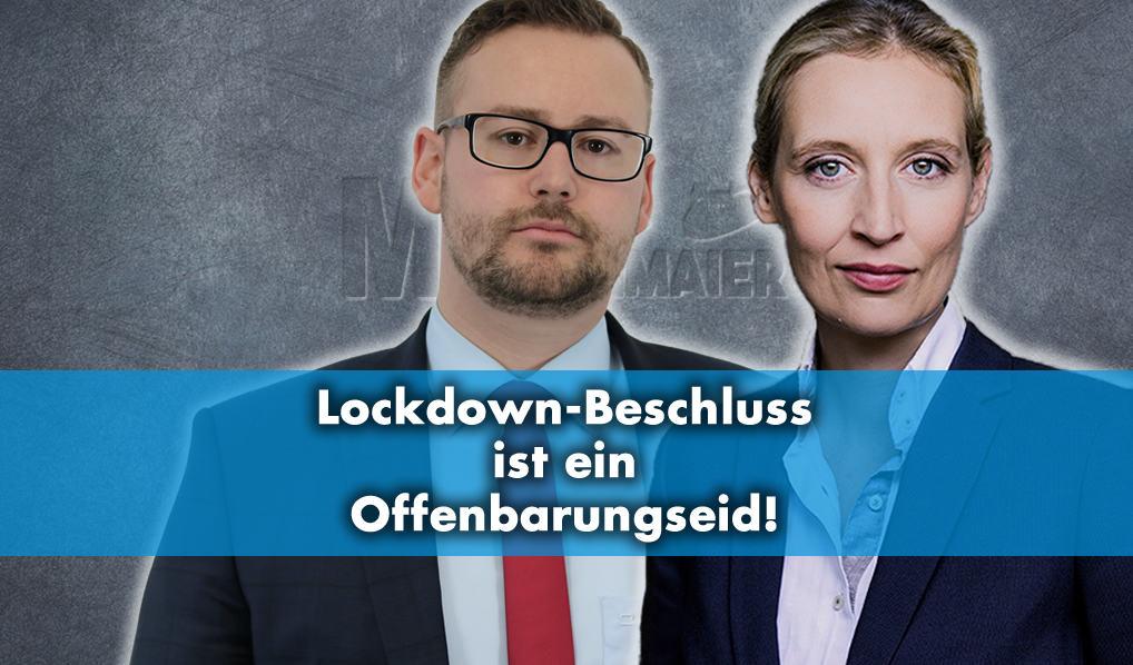 Lockdown-Beschluss ist ein Offenbarungseid!