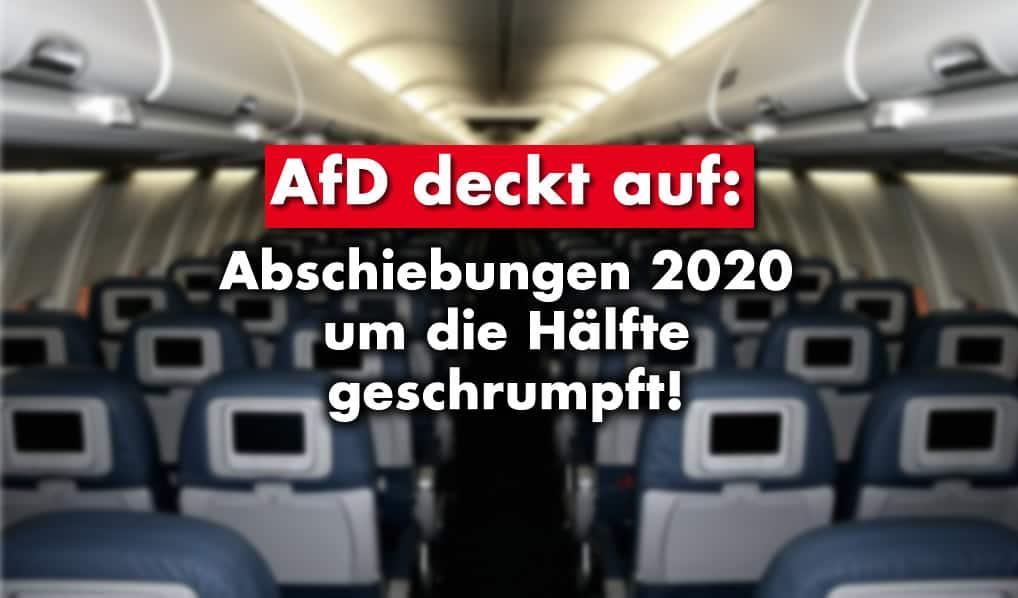 AfD deckt auf: Abschiebungen 2020 um die Hälfte geschrumpft