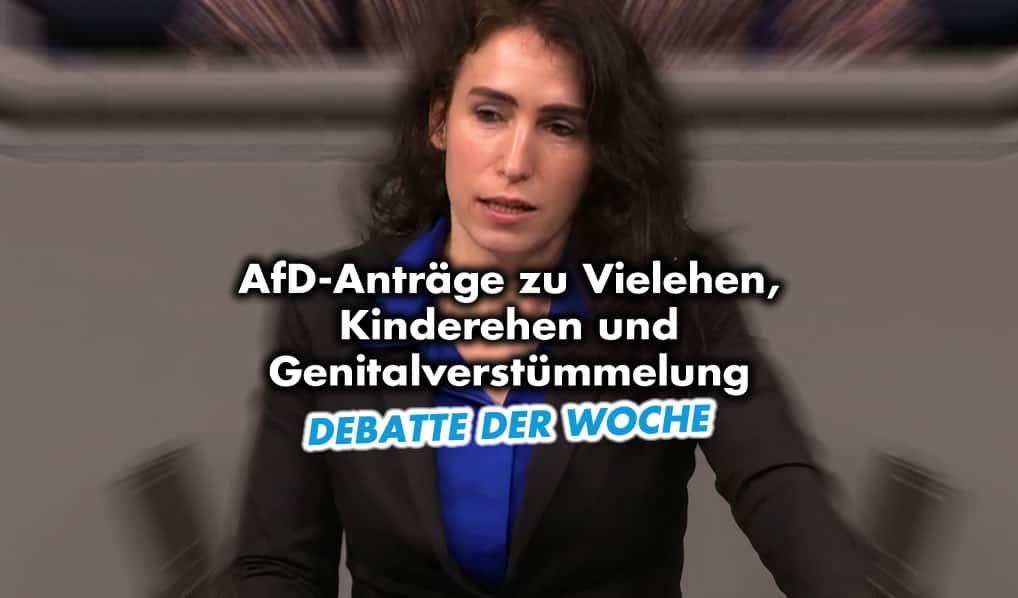 AfD-Anträge zu Vielehen, Kinderehen und Genitalverstümmelung