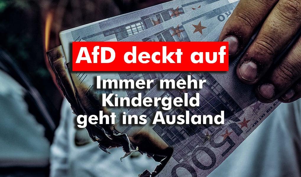 Immer mehr Kindergeld geht ins Ausland
