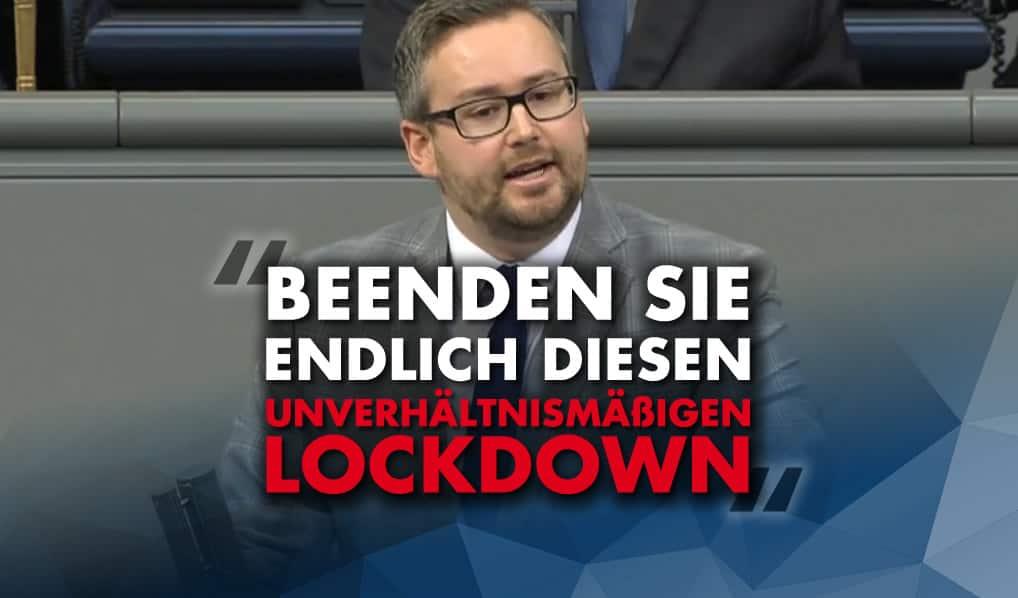 Beenden Sie endlich diesen unverhältnismäßigen Lockdown!