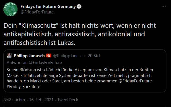 Fridays for Future - Antifaschistisch