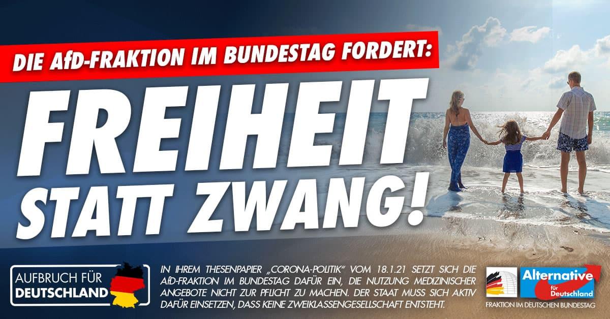 Aufbruch für Deutschland - Freiheit statt Zwang