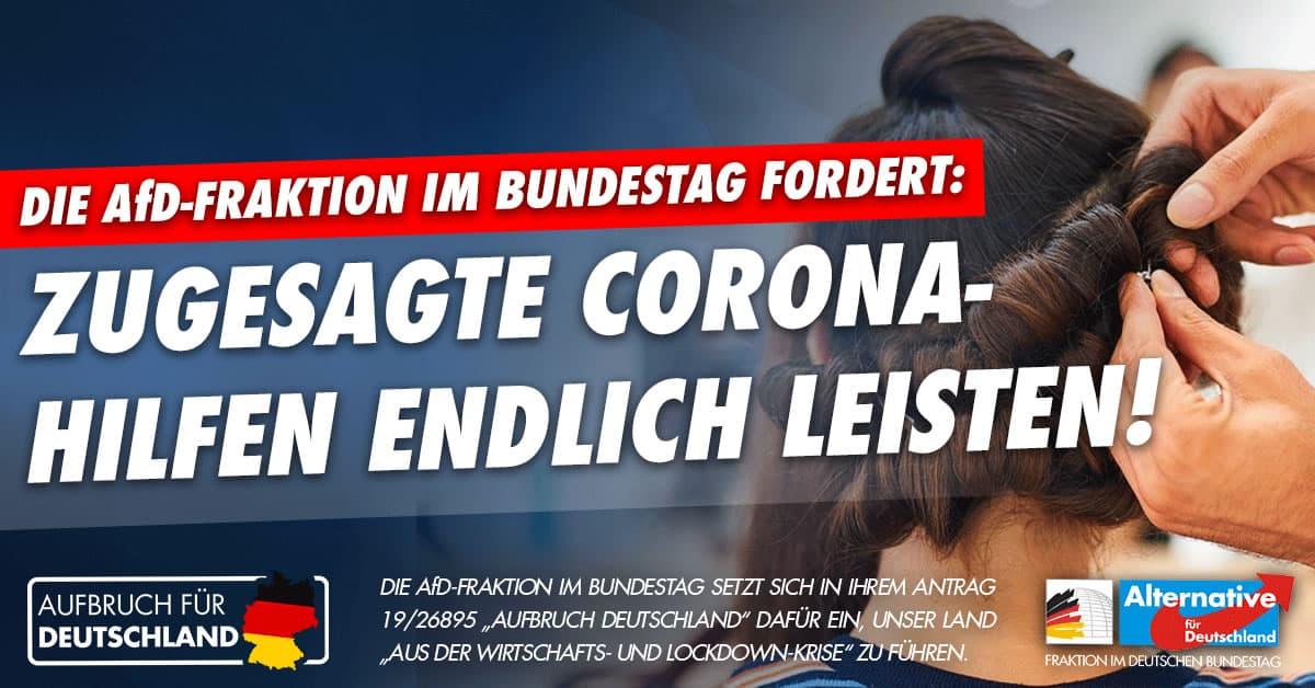 Aufbruch für Deutschland - Zugesagte Corona-Hilfen
