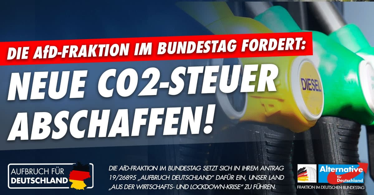 Aufbruch für Deutschland - CO2-Steuer abschaffen