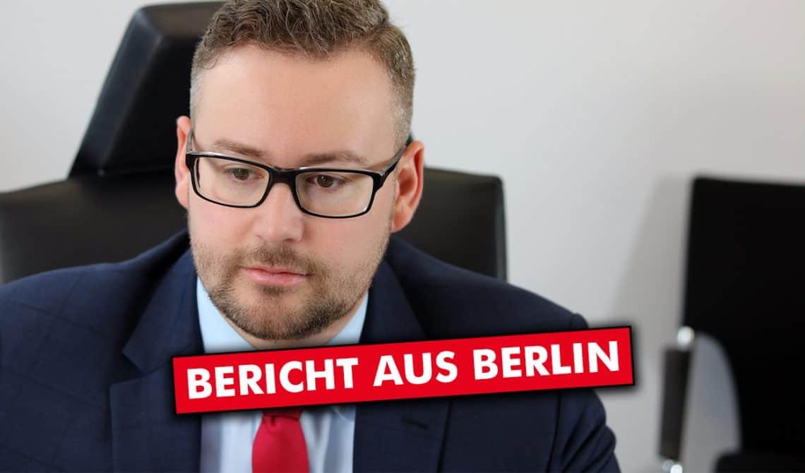 Bericht aus Berlin: Freiheitseinschränkungen & Verfassungsschutz