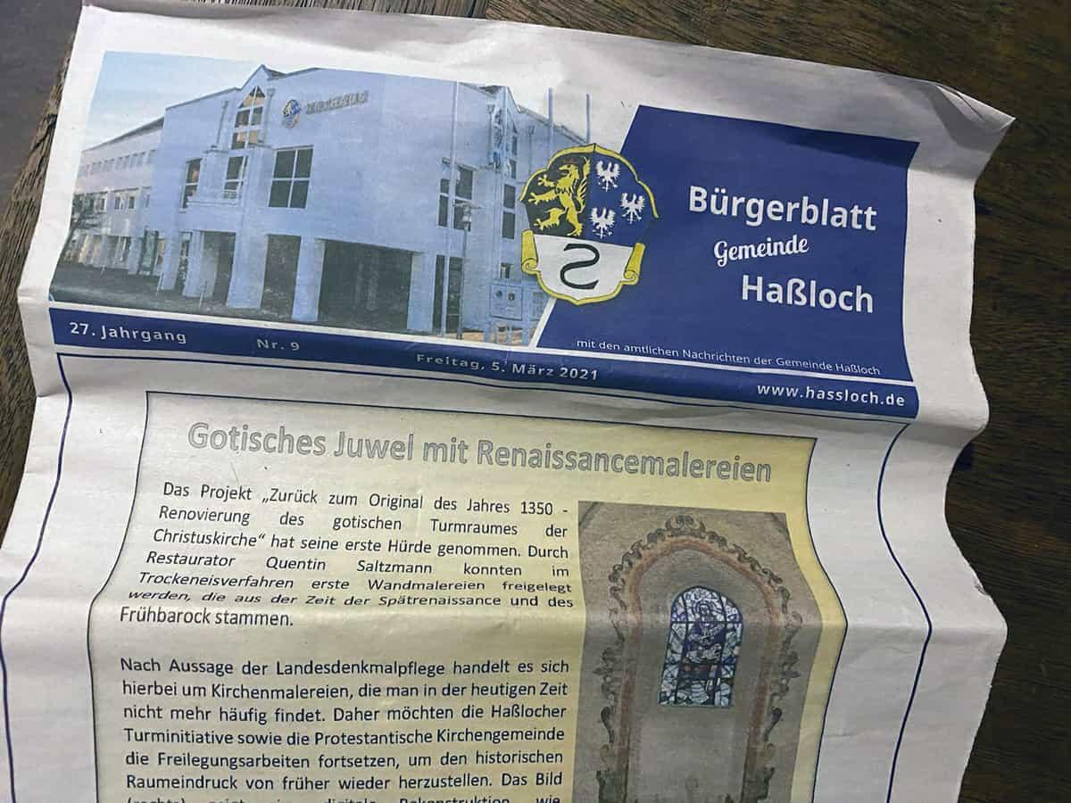 Bürgerblatt Hassloch