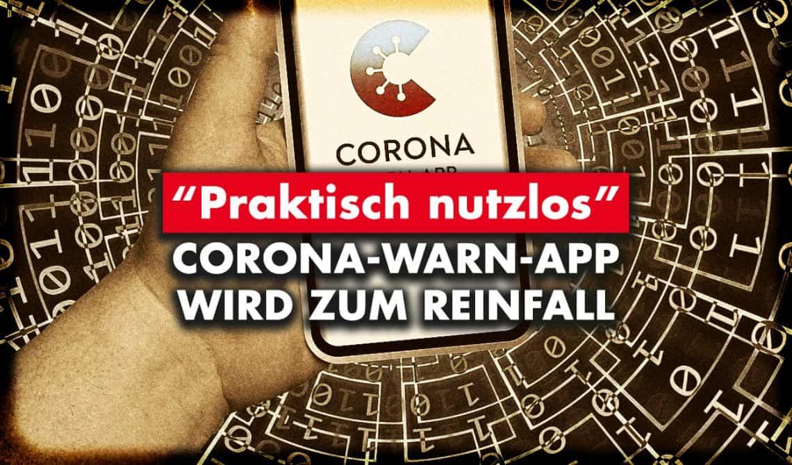 Corona-Warn-App wird zum Reinfall