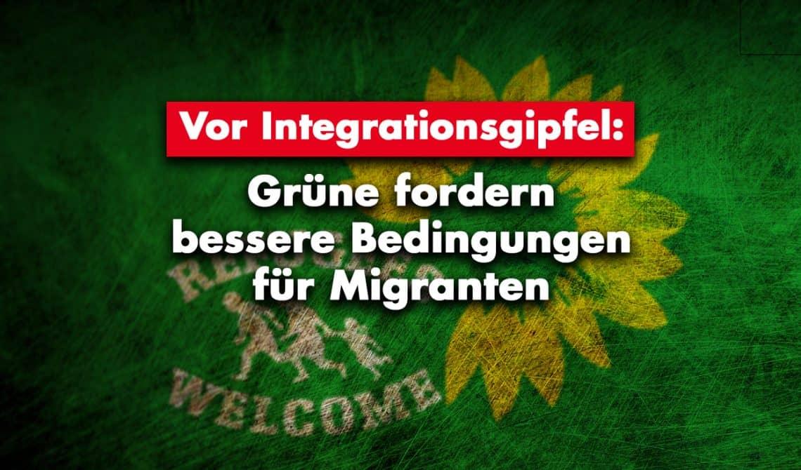 Vor Integrationsgipfel: Grüne fordern bessere Bedingungen für Migranten