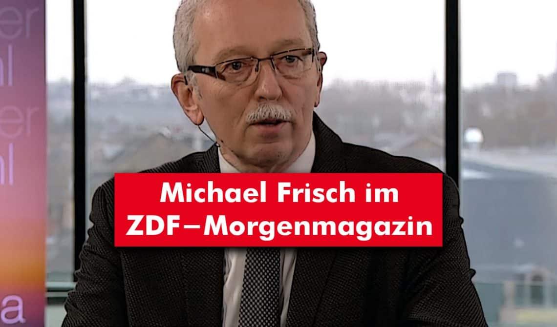 Michael Frisch im ZDF-Morgenmagazin