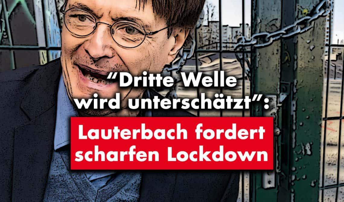 """""""Dritte Welle wird unterschätzt"""": Lauterbach fordert scharfen Lockdown"""