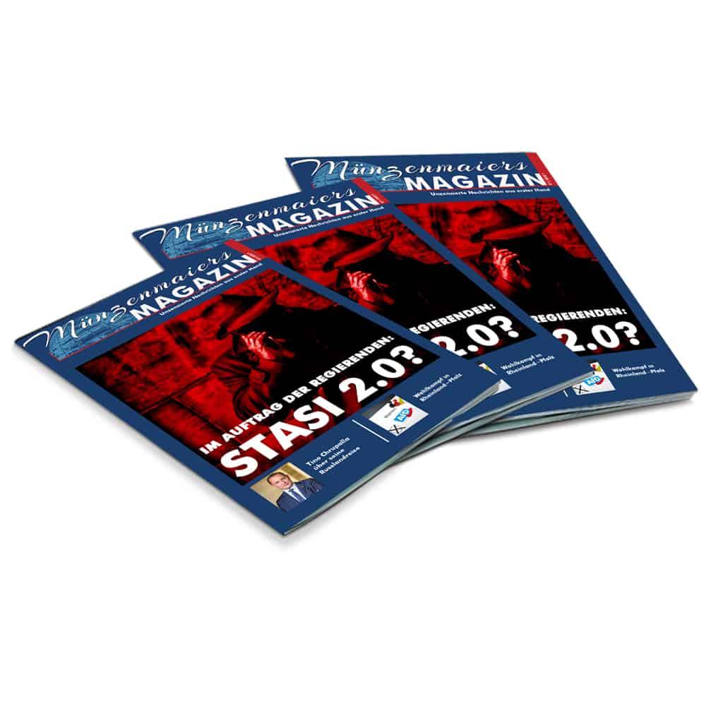 Präsentation - Münzenmaiers Magazin 01 / 2021