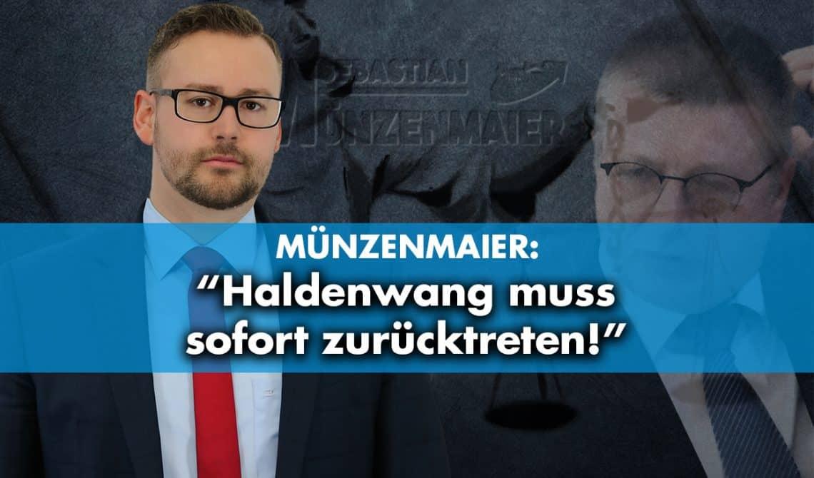 Münzenenmaier: Haldenwang muss sofort zurücktreten!