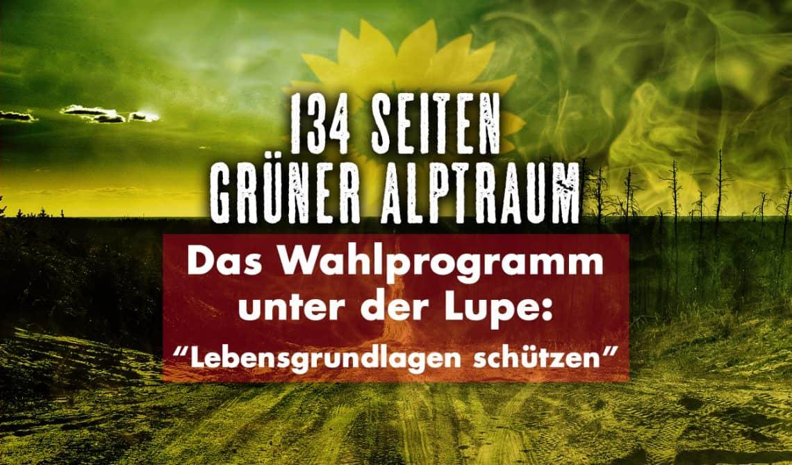 """""""Lebensgrundlagen schützen"""": Zwischen Weltrettung und Tofuschnitzel"""