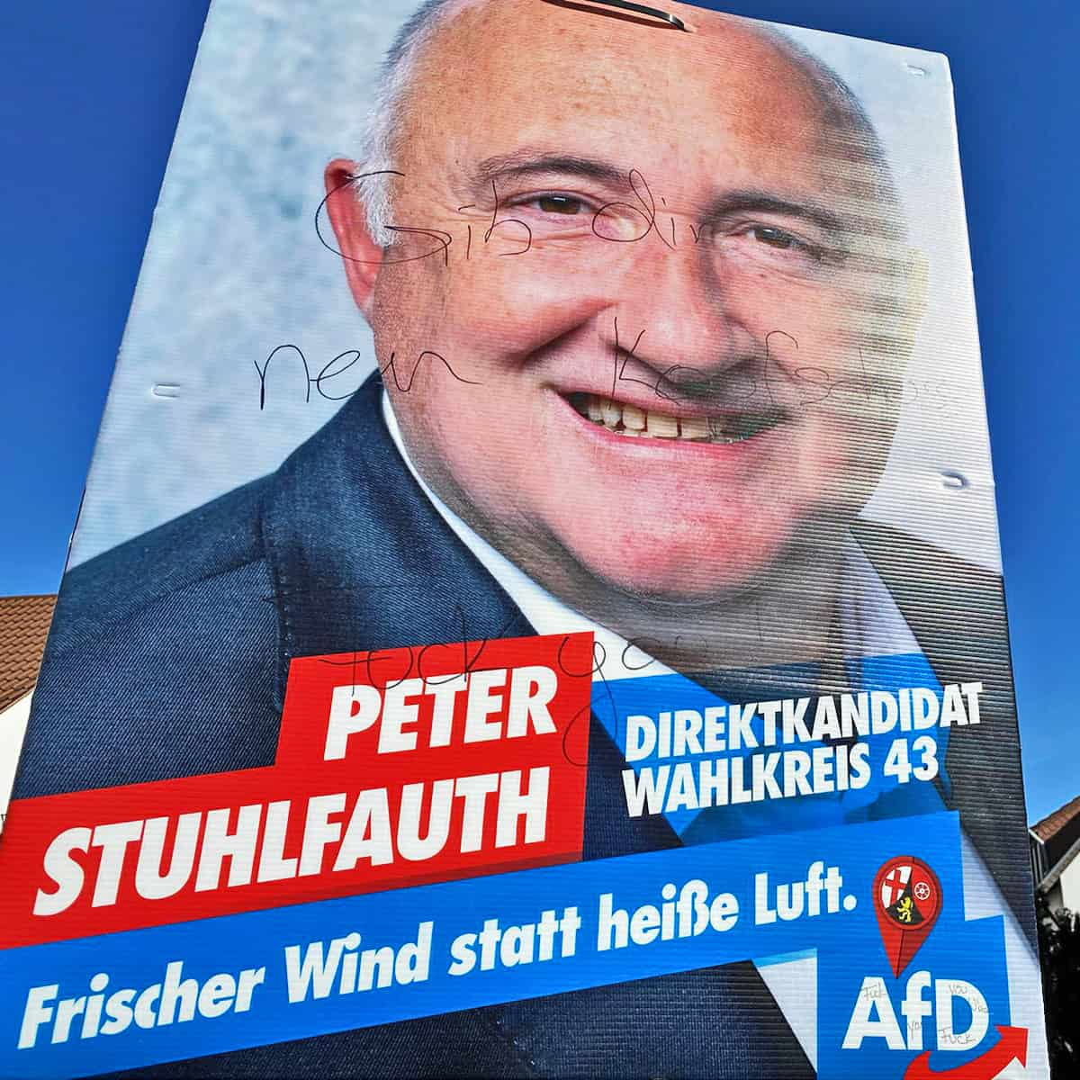 Morddrohung gegen Peter Stuhlfauth