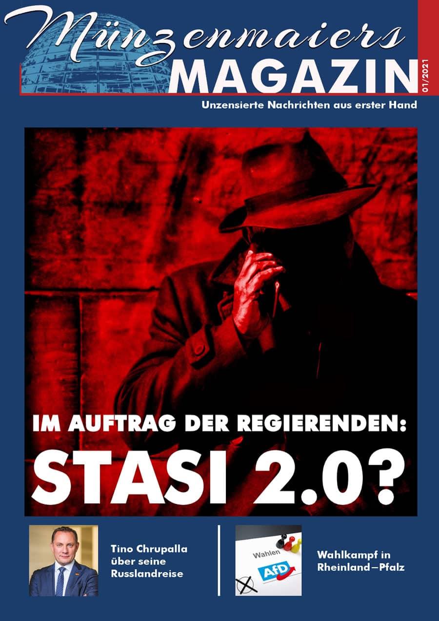 Münzenmaiers Magazin - Ausgabe 01/2021