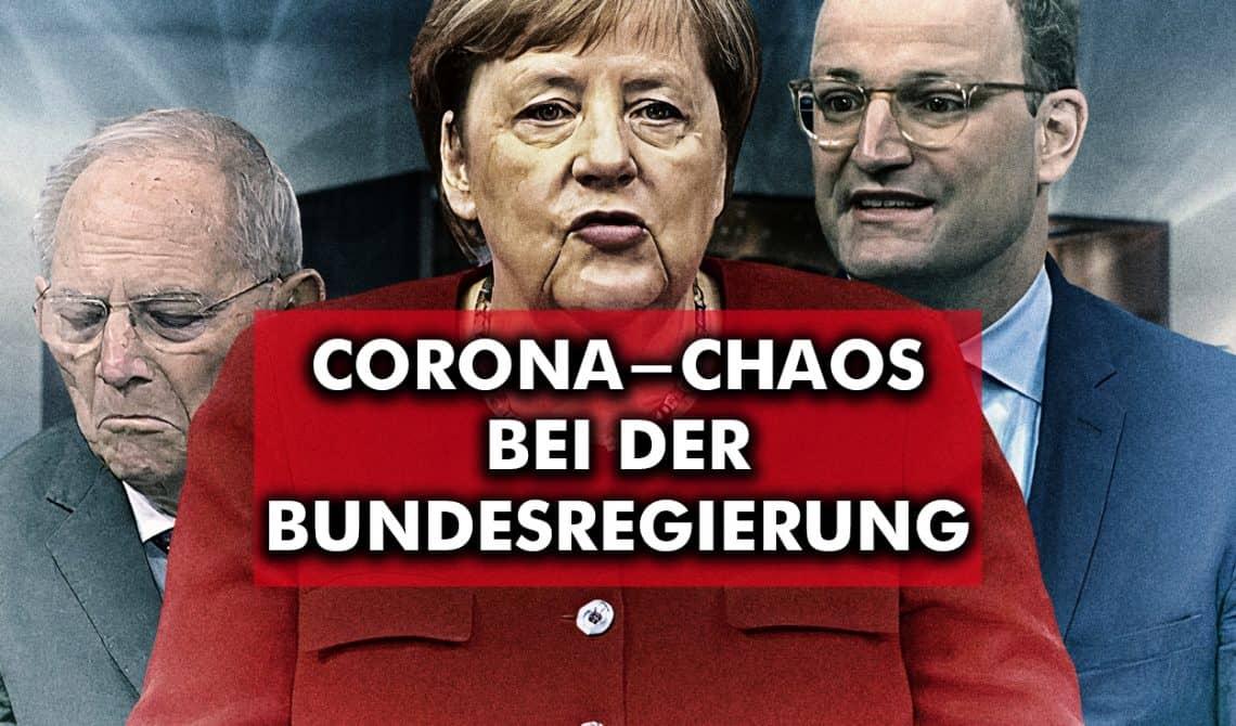 Corona-Chaos bei der Bundesregierung