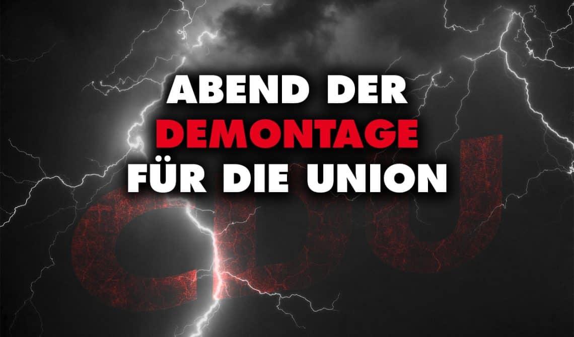 CDU-Vorstandssitzung: Abend der Demontage für die Union