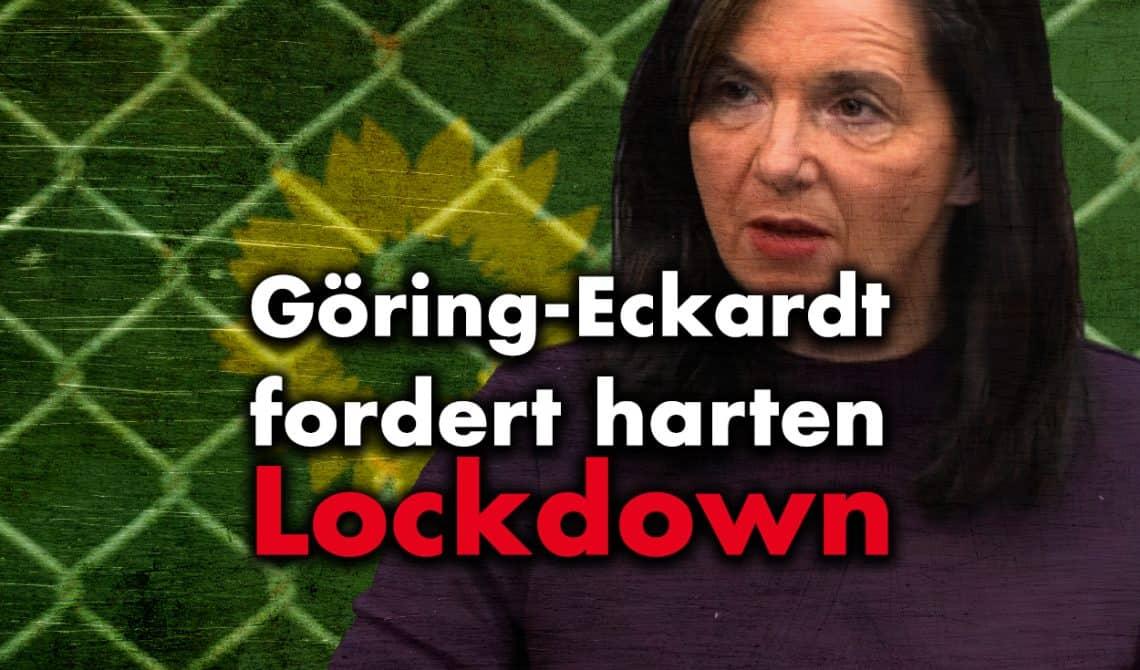 Göring-Eckardt fordert harten Lockdown